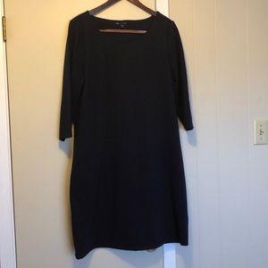 Navy Blue Gap Dress